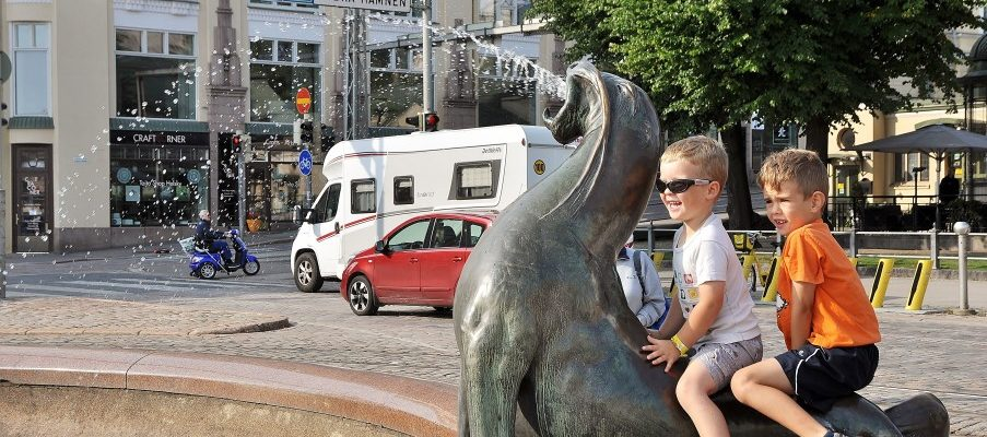 Helsinki, la ville dans les parcs (ou l'inverse ??)