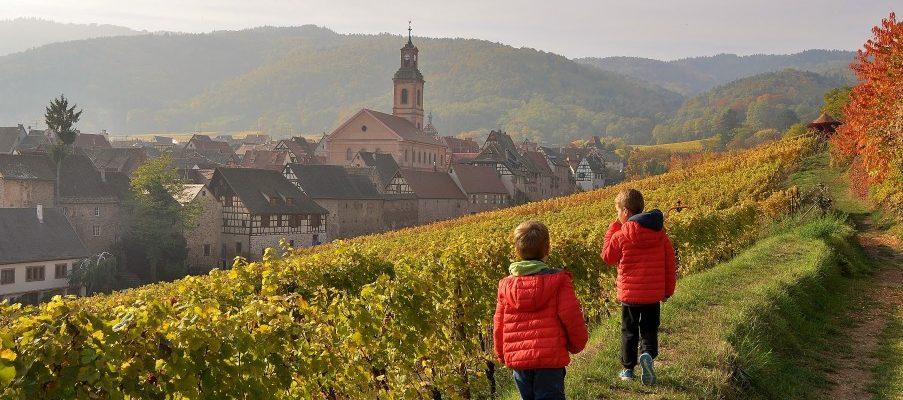 L'Alsace, entre gourmandises, cites charmantes et chateau fort !