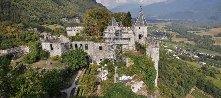 A l'assaut du chateau de Miolans !