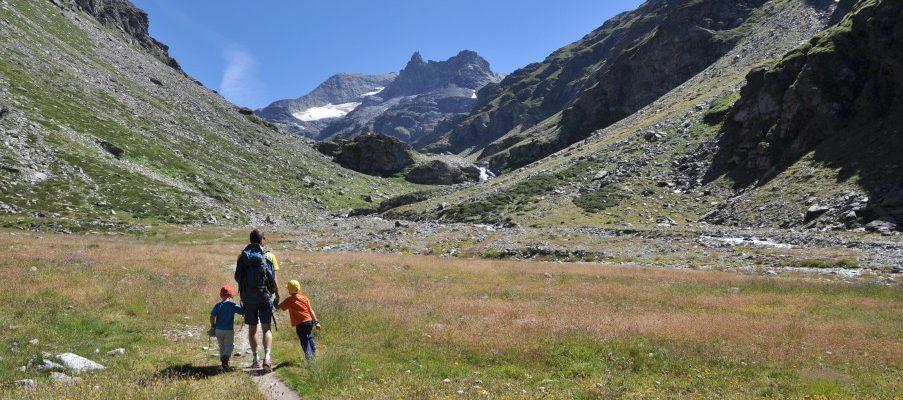 Randonnee dans le Val d'Ambin (avec la nuit au refuge!)