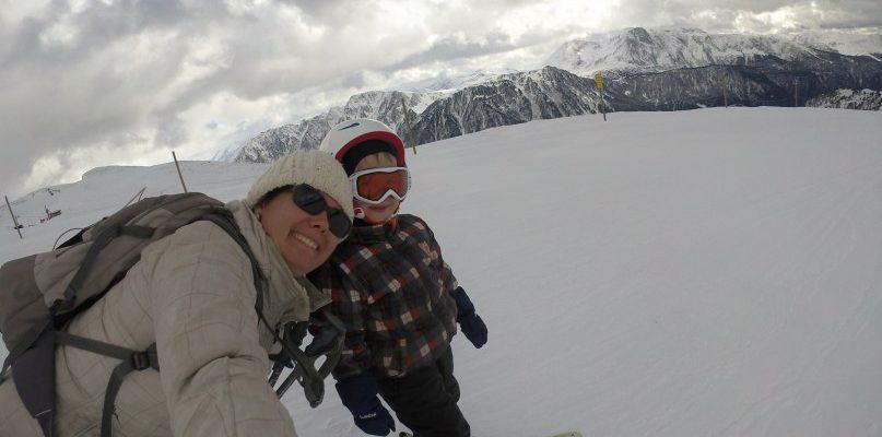 J'ai skié … à Chamrousse