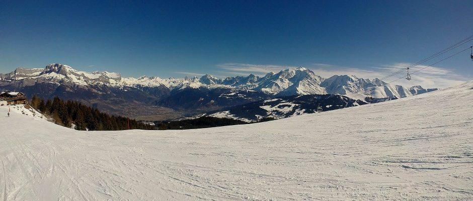 J'ai skié … à Combloux